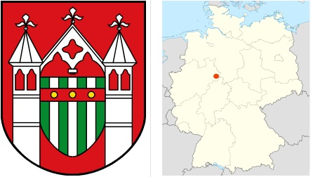 Wappen der Stadt Brakel