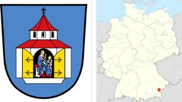 Wappen der Stadt Neuötting